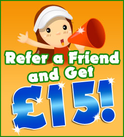 Refer a Friend and get £15