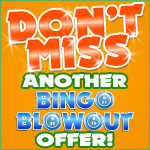 Don't Miss Another Bingo Blowout Offer